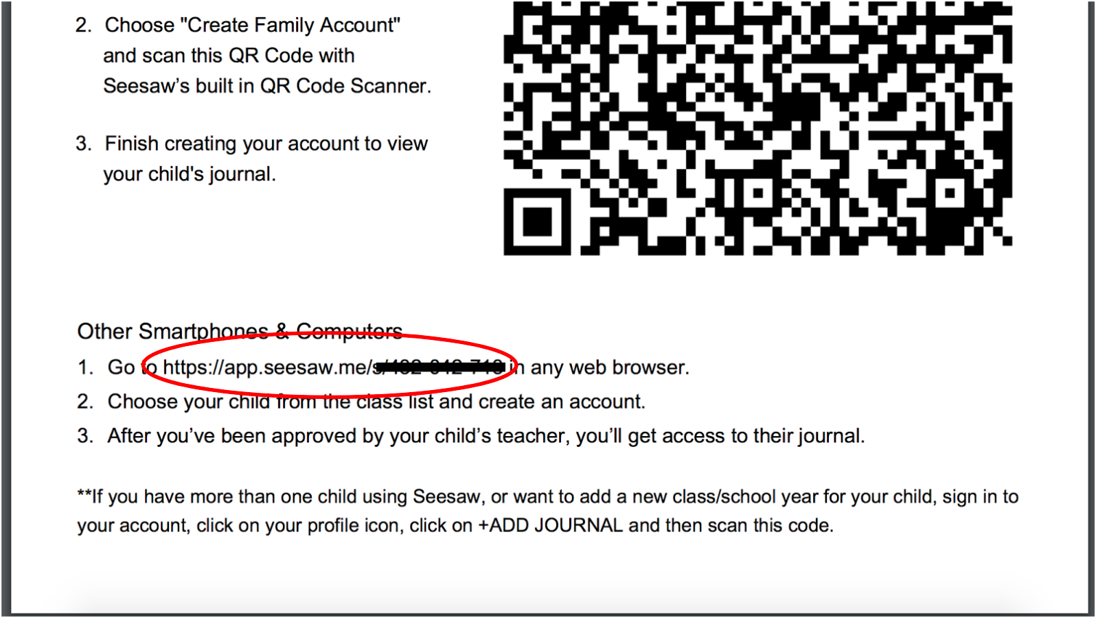 Why isn't my QR code working? – Seesaw Help Center