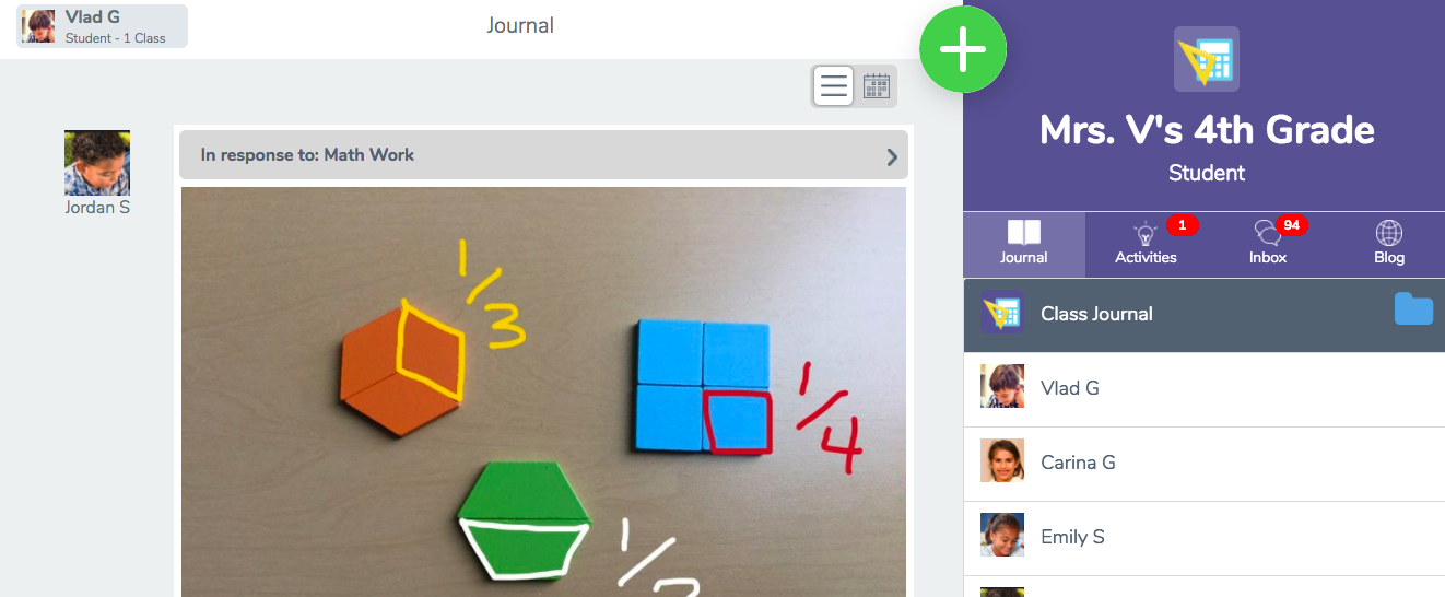 How do students add posts to Seesaw? – Seesaw Help Center