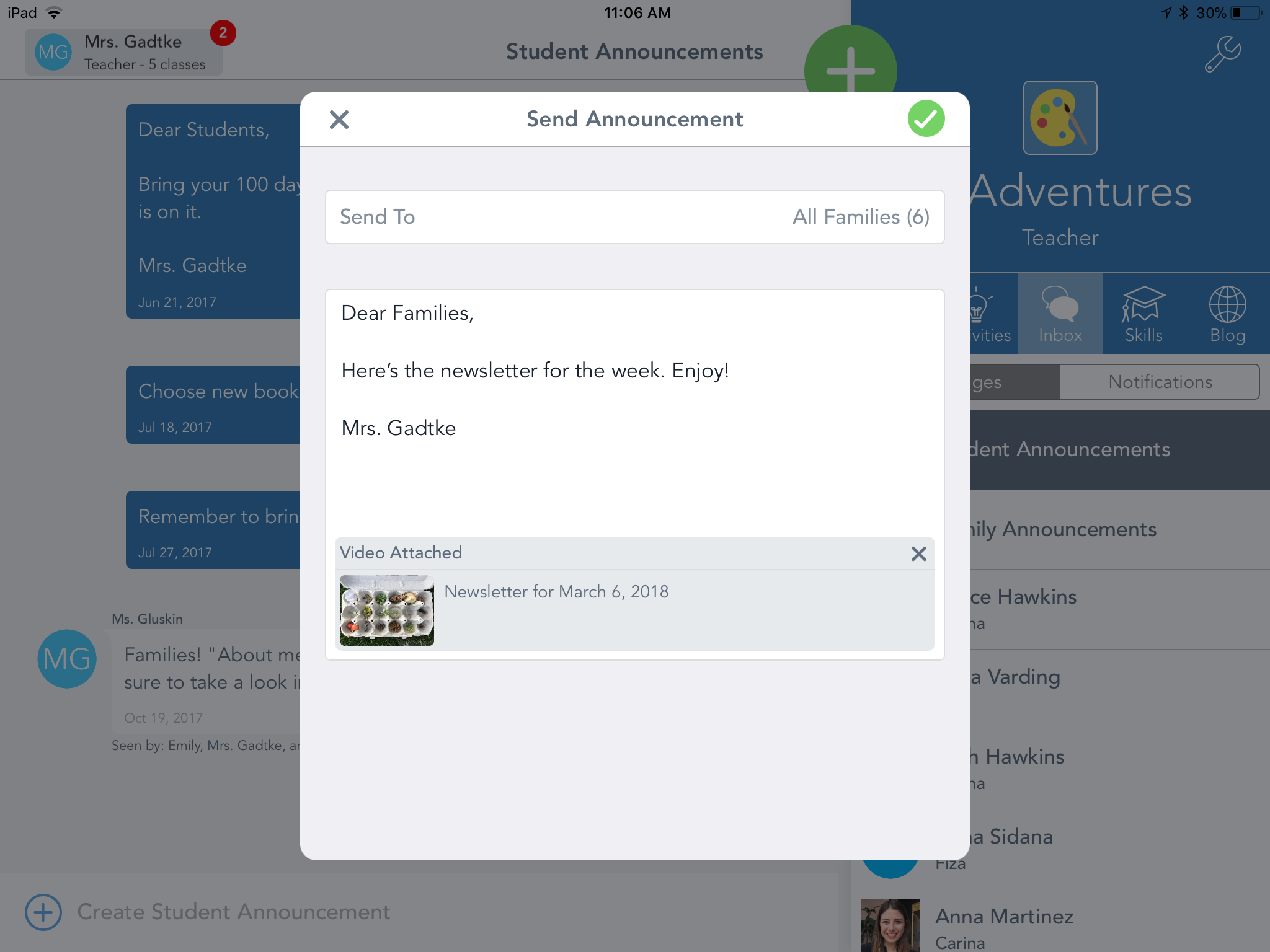 How does messaging work? – Seesaw Help Center